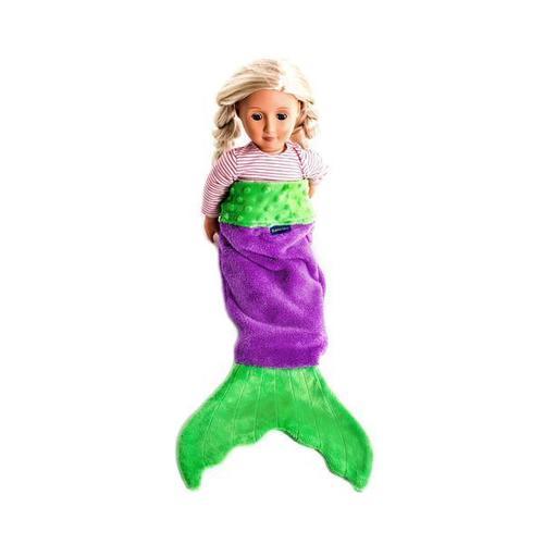Doll Baby Mermaid Tail Purple