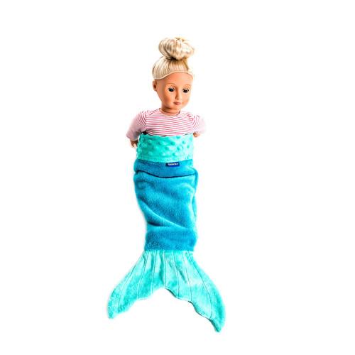 Doll Baby Mermaid Tail Aqua