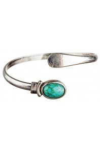Bypass Turquoise Bangle