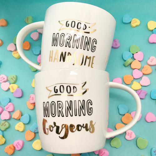 Good Morning Handsome/Gorgeous Mug Set