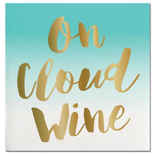 On Cloud Wine Foil Napkins