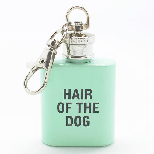 Hair of The Dog Key Ring Flask