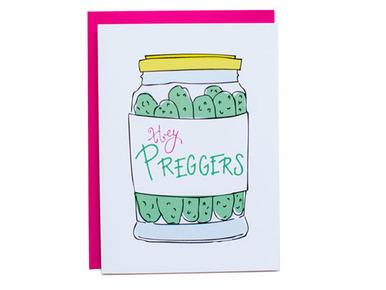 Hey Preggers Card