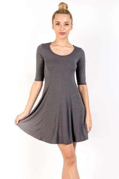 Emmaline dress (Slate)