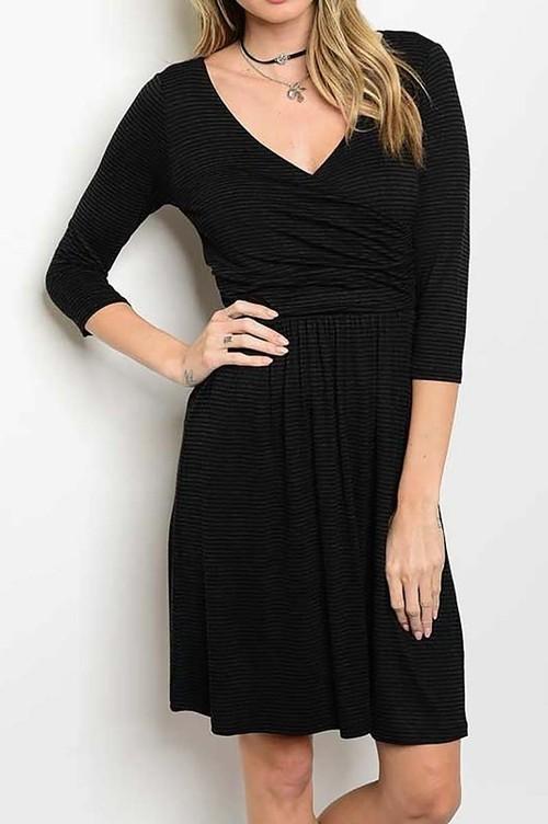 Margo striped dress