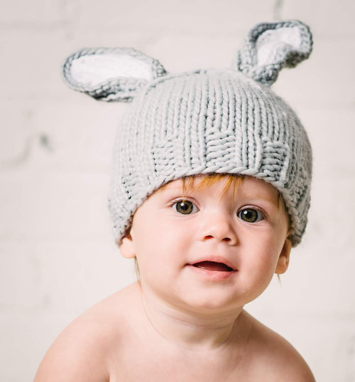Bunny Knit Hat