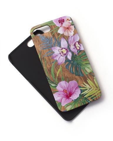 Woodie Case Palm Floral iphone 7 Plus