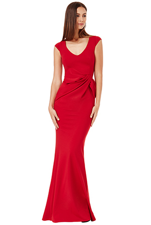Scarlett Dress in red *Online Exclusive*