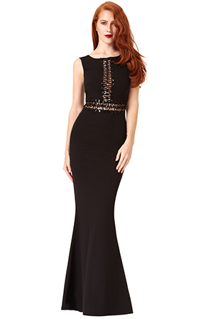 Natalie Red Carpet dress in Black *Online Exclusive*