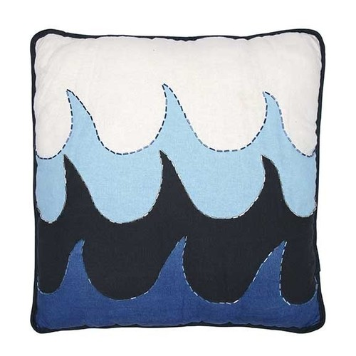Wave Beaded Pillow