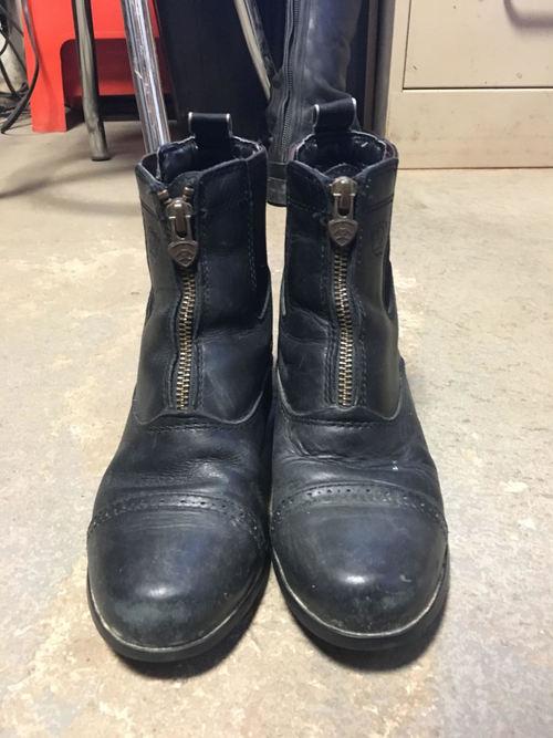Consignment Kids Zip Paddock Boots