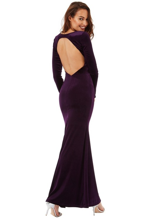 Dark Vixen Dress in Plum or Black *Online exclusive*