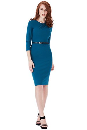 Joan dress in Teal *Online Exclusive*