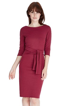 Fara dress in Wine or Black *Online Exclusive*