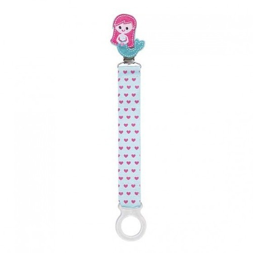 Mermaid Pacifier Clip