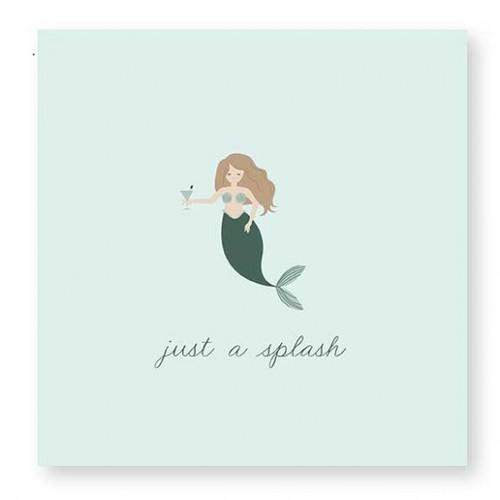 Just a Splash Mermaid Napkin