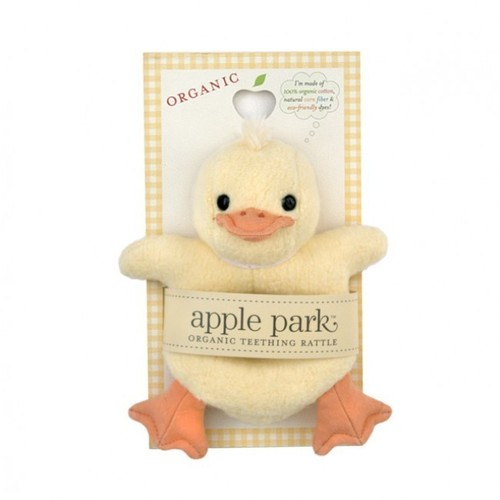 Organic Teething Toy Ducky
