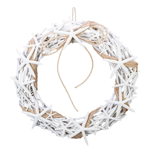 Twig and Starfish Wreath