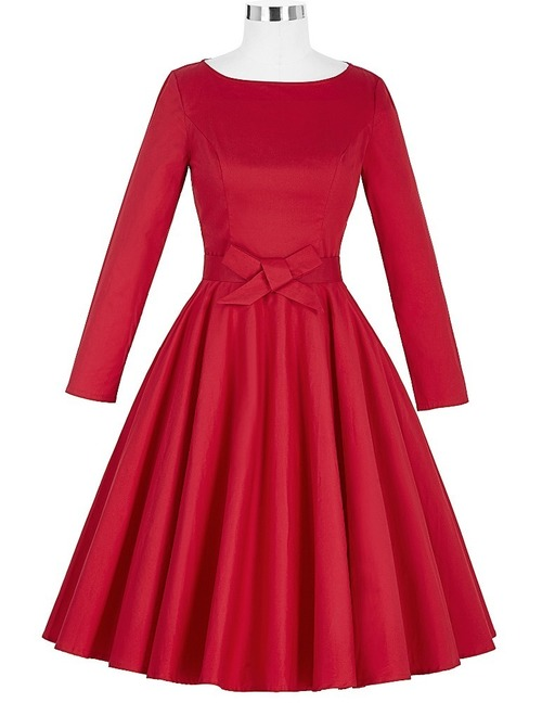 Amy dress in Red, Navy or Black