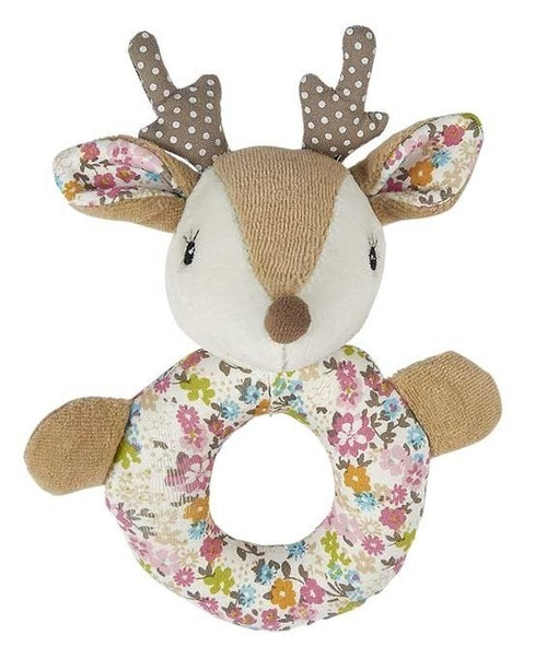 Farrah the Fawn Ring Rattle