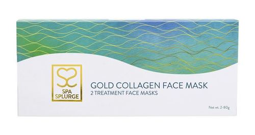 Gold Collagen Full Face Mask