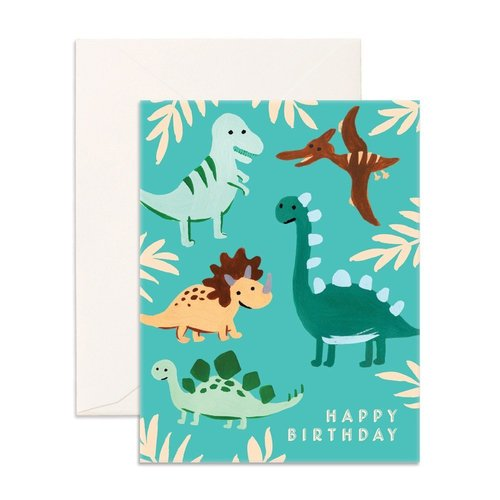 Birthday Dinos Card