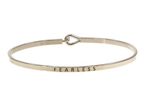 Fearless Silver Bracelet