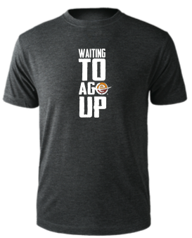 Men's Waiting to Age Up Tee