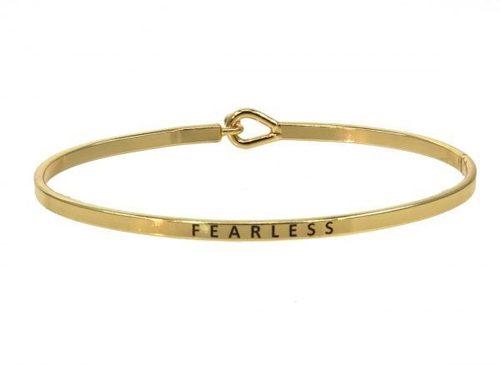 Fearless Gold Bracelet