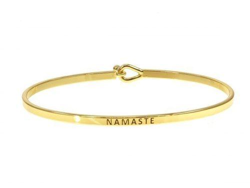 Namaste Gold Bracelet