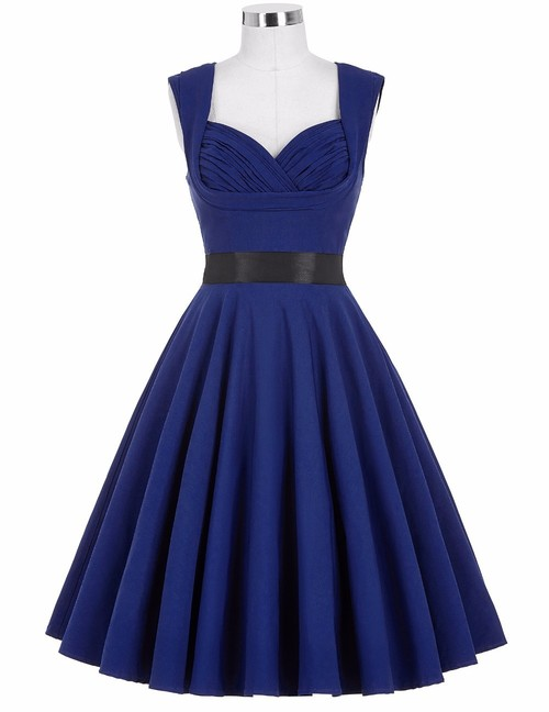 Taylor Dress in Royal Blue