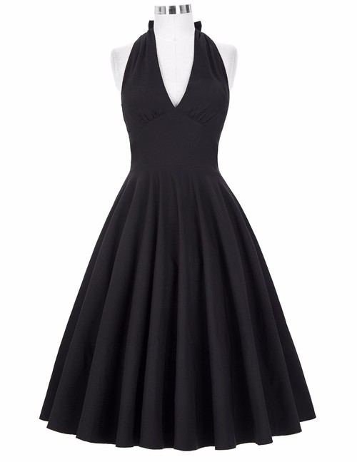 Marilyn Dress in Black or Red *Online Exclusive*