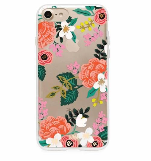 Clear Birch iphone Case 7 Plus