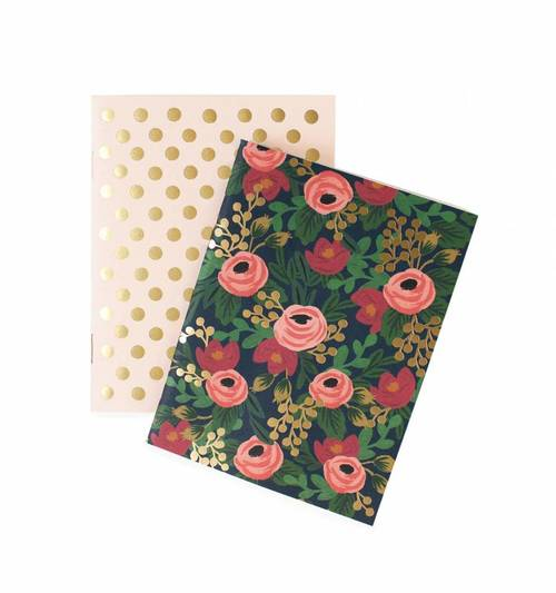 Rosa Notebook Set of 2
