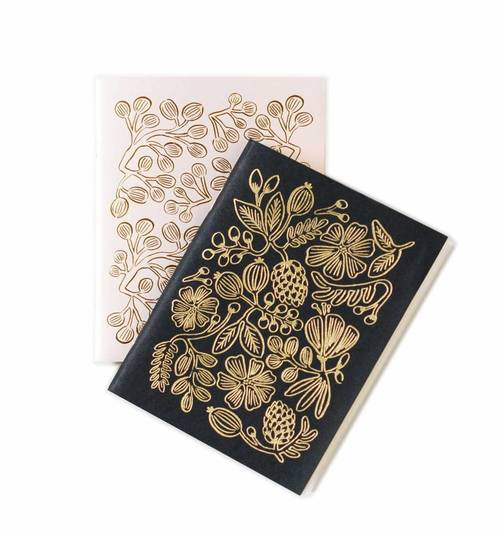 Gold Foil Notebook Set of 2