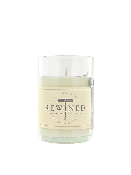Rewined Rose Candle
