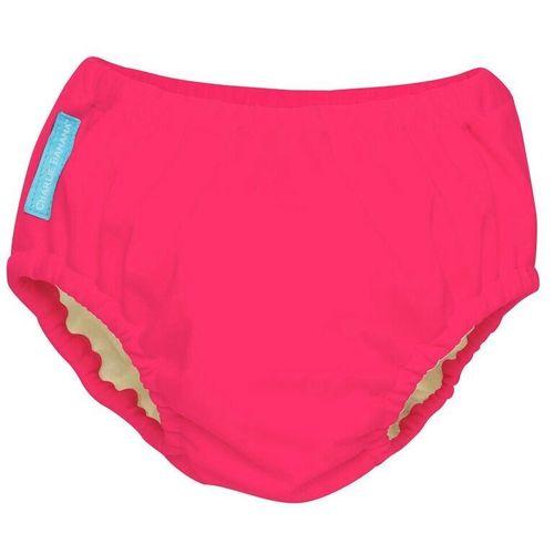 Hot Pink Reusable Swim Diaper