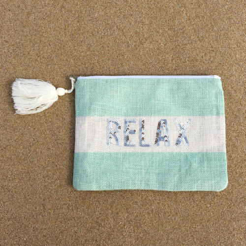 Relax Sequin Pouch