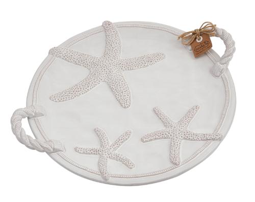 Starfish Round Platter