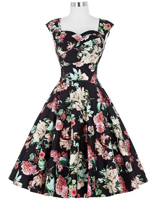 Rita dress in Paradise Floral