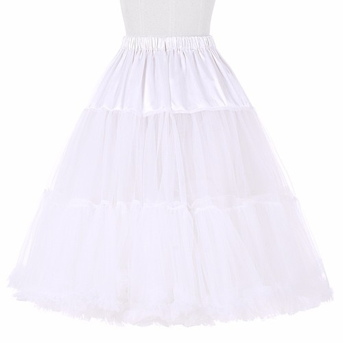 Vivienne Luxury Petticoat in White