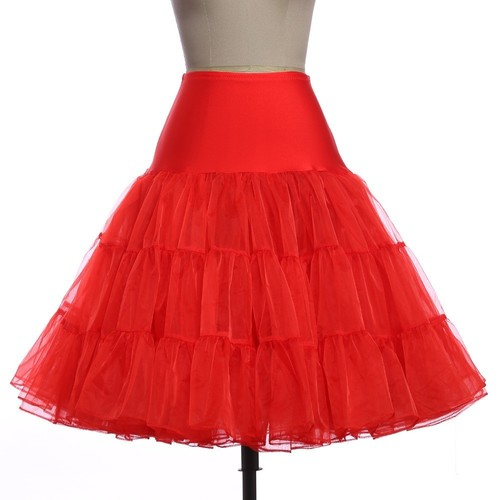 The Mona Petticoat in Red