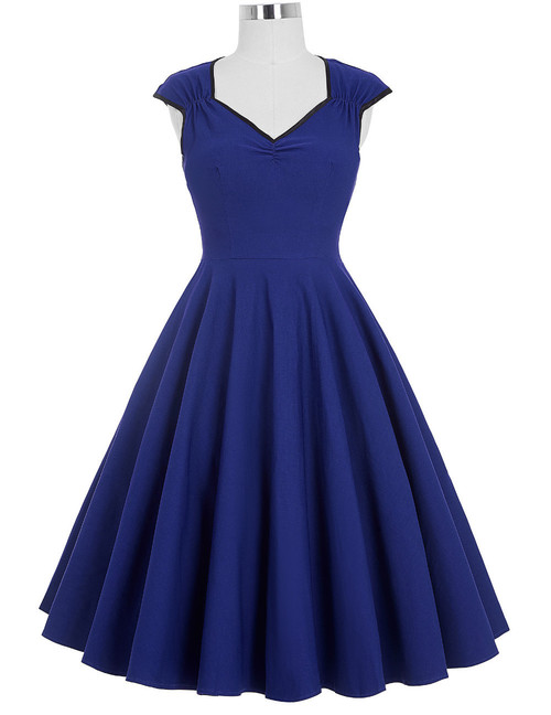 Judy Dress in Royal Blue