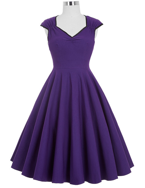 Judy Dress in purple