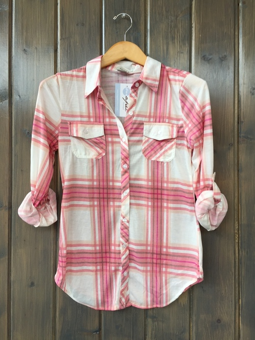 Ramblin Rose Knit Button Down
