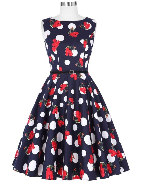 Felicity dress in Cherry print