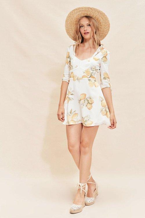 03696fcd4bb2 Limonada Mini Dress By For Love   Lemons