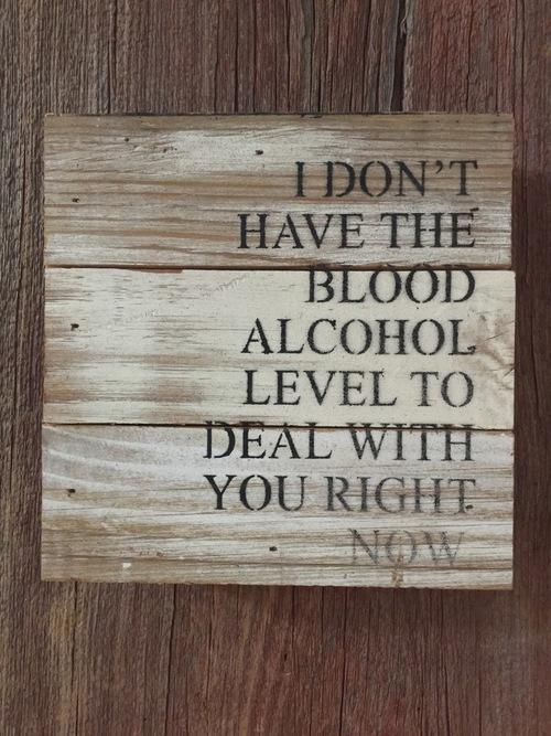 Blood Alcohol Wall Art