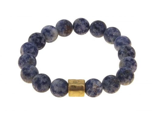Sodalite Bead Stretch Bracelet