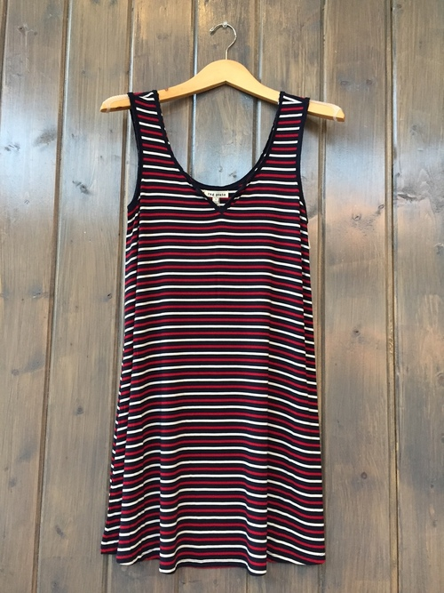 Marbella Striped Tunic Dress